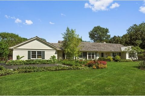 Rarely available East Lake Forest ranch on quiet lane 1 block from Lake Michigan. Enjoy lake breezes and sounds of waves. Home exudes charm and character, and offers flexible layout, and views of the beautifully landscaped grounds. Property includes ...
