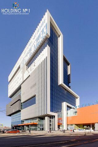 Продам офисное помещение, без комиссий, площадью 487,8 м2 на 18-м этаже в БЦ