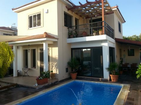 Four bedroom house for sale in Pervolia coastal just 200 meters from the beach. There are 3 bedrooms upstairs and 1 downstair which is used as an office.    The house also features: Utility room, gazebo, fly nets on all the windows, new shutters and ...