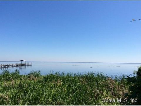 100' of Lake George waterfront. Located on 2nd largest lake in Florida and St Johns River with navigation to so many natural springs and recreation opportunities. Minutes to Silver Glen, Juniper and Salt Springs Run. Magnificent sunrises on this beau...