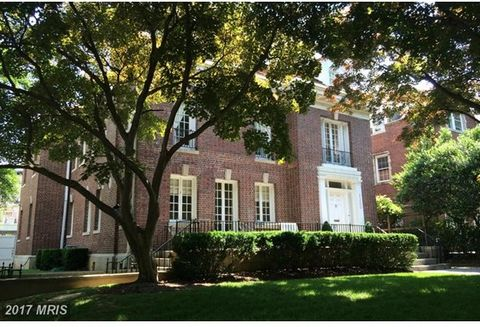 Exquisite, uniquely detached corner property in elegant Kalorama. Large, stately rooms with period details, ideal for entertaining, beautiful grounds and garage parking! Walk to Dupont, stroll down to Rock Creek Park or take the Parkway for easy acce...