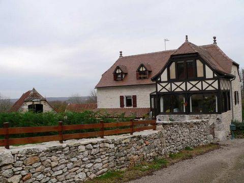 Achat-Vente-Maison-Midi-Pyrénées-LOT-Grezes