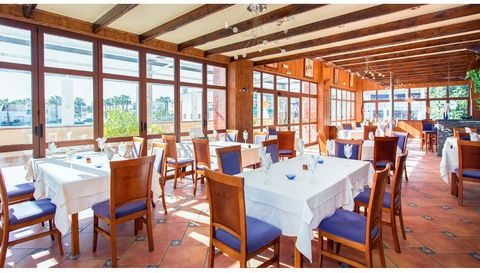 Restaurant for sale in Los Dolses complex, Orihuela Costa. This elegant restaurant is on the second floor of Villamartin shopping center. The building has two floors, its amplitude is 240m2 with a terrace around the building of 100m2. Inside it is fu...