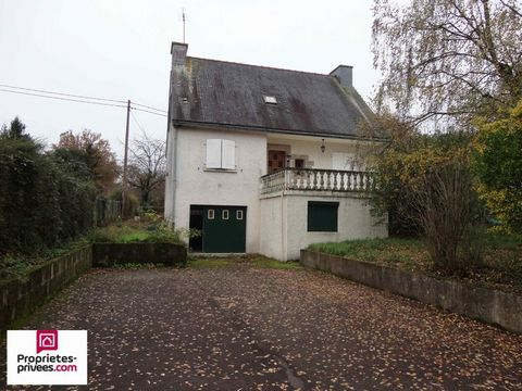 ST NICOLAS DE REDON Proche bourg, House 7 Room (s) 140 m², Land 1453 m², 4 Bedrooms, Fitted kitchen.