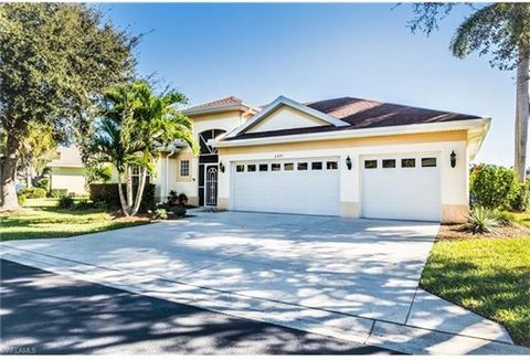 RARE OPPORTUNITY nestled within the heart of Estero. This unique 3 CAR GARAGE, 4 bedroom, 3 full bathroom home located on an over-sized lot is meticulously maintained and completely move in ready. This open concept floorplan has it all including an o...