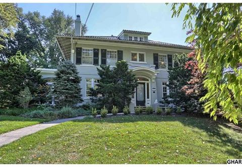 Popular location In-town Hershey. A rare opportunity to own an exquisite historical Hershey home originally built by MS Hershey for his mother known as The Queen of Caracas. It has been lovingly restored and upgraded for today's lifestyle. Gorgeous o...