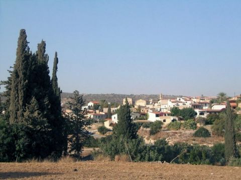 A piece of land is for sale in the picturesque village of Maroni.  The land is 7358 square meters with a planning zone of Π1which has a total coverage of 15%.  The piece of land is located 3kilometers from the beach and 500 meters from the villag...