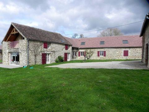 Located in Saint Denis sur Sarthon.