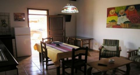 The house in Agüimes has 2 bedrooms and has capacity for 4 people. The house is cozy, has an exterior, and has 65 m². It is located 0,30 km from the supermarket, 10 km from the airport, 1 km from the sand beach. The house is situated in a well connec...