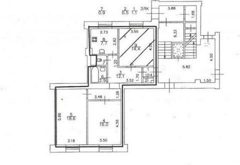 Продается просторная 3-х комнатная квартира сталинской постройки (1956 год). Развитая инфраструктура,напротив дома школа и детский садик, до метро Автово 3 минуты пешком, до ЗСД 5 минут , до цента 20 минут. Тихий уютный двор, замечательные тихие сосе...
