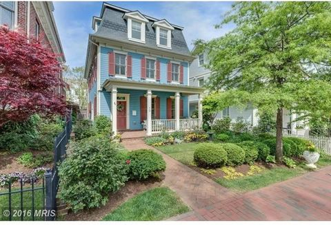 JUST REDUCED: Acton's Landing single-family house, nr.Church Circle. Floor Plans in