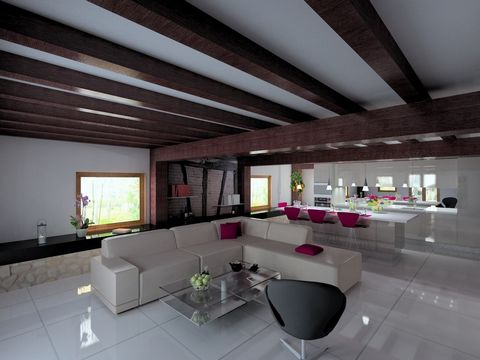 ST ANDRE SUR VIEUX JONC Centre ville, House 7 Room (s) 200 m², 5 Bedrooms