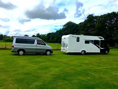 4 berth brand new motorhome christened Doodles in May 2015.