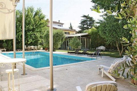 Cosy two-family house located near Navacchio and just 13 km from Pisa. A large park with swimming pool (available from 9 am – 8 pm) shared with ITP532, ITP394 and ITP549 is the perfect romantic backdrop for your relaxation. A part of the front garden...