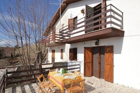 This cosy, panoramic holiday apartment in two-family house is located near Serrone (Frosinone 50 km). It is simply furnished and equipped with amenities such as free Wi-Fi internet connection and a beautiful terrace where you can comfortably eat outs...