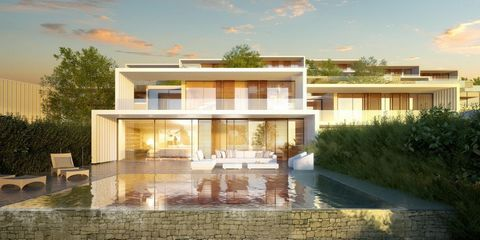 Luxury Semi Detatched Villas Sotogrande designed by renowned architect Rafael de la Hoz The project is being built on one of the largest plots in Sotogrande with the development of 176 semi-detached villas Sotogrande is one of the largest private urb...