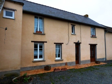 LE MOLAY LITTRY Campagne, Longère - Corps de ferme 6 Room (s) 150 m², 1 Floor, Land 17000 m², 4 Bedrooms, Fitted kitchen.
