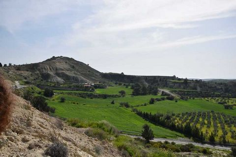 A piece of land is for sale on a mountain hill top in Anglisides, Larnaca  The property measures 2676 sq.m H3 Residential Zone 60% There is water, electricity and road access The land is approximately 20 minutes drive south of Larnaka town and the I...