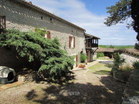 Achat-Vente-Maison-Midi-Pyrénées-TARN ET GARONNE-Roquecor