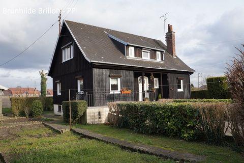 FOUQUIERES LES LENS Centre ville, House 6 Room (s) 120 m², 1 Floor, Land 948 m², 4 Bedrooms, Fitted kitchen.