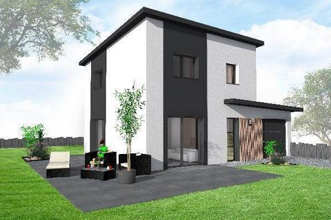 Maison moderne 3 chambres + garage. Vaste pièce de vie, cuisine ouverte,Le tout sur près de 350m2.Terrain plat viabilisé, raccordements prévus, ainsi que assurances, notaire, etc...Demandez AuréliaContact au ...