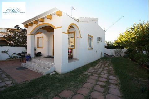 Description This lovely townhouse built in 2004 and is located in less than 50 m from the fine sandy beach of Oliva Nova in a small urbanization with a communal pool. The good architecture and the excellent design of the house invite you to relax and...