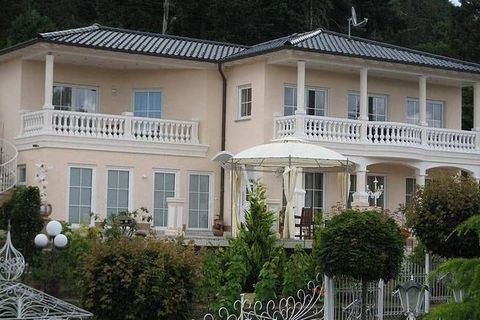 The holiday home Eifelpalace VIII is located at a prime location on the outskirts of Adenau. If you rent this house the whole building, consisting out of 2 stacked apartments with 2 balconies and a private terrace, stays at your disposal. The comfort...